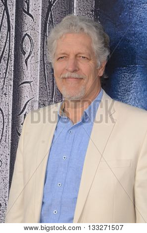 LOS ANGELES - JUN 6:  Clancy Brown at the Warcraft Global Premiere at TCL Chinese Theater IMAX on June 6, 2016 in Los Angeles, CA
