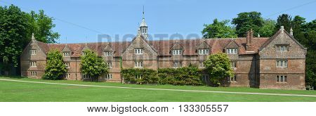 Saffron Walden, Essex, England - June 05, 2016: The Stable building Audley End House Essex England.