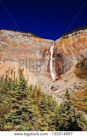 Takakkaw Falls, Yoho National Park, Alberta, Canada