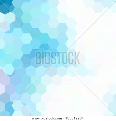 Vector Background With Hexagons. Can Be Used In Cover Design, Book Design, Website Background. Vecto