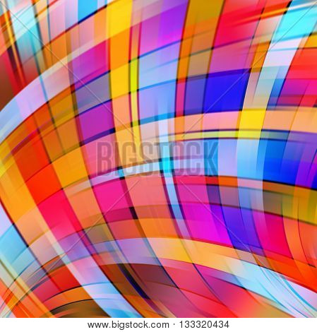 Abstract Technology Background Vector Wallpaper. Stock Vectors Illustration. Pink, Orange, Blue, Red