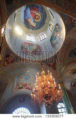 Beautiful Paintwork On Church Walls