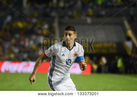 James Rodriguez And During Copa America Centenario