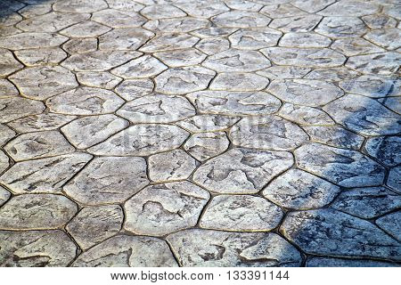 In   Asia  Bangkok Thailand Abstract Pavement   Stone Step The