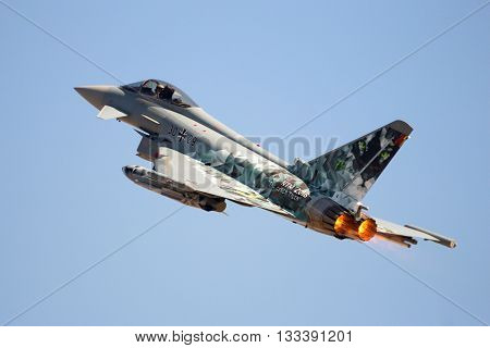 German Eurofighter Jet