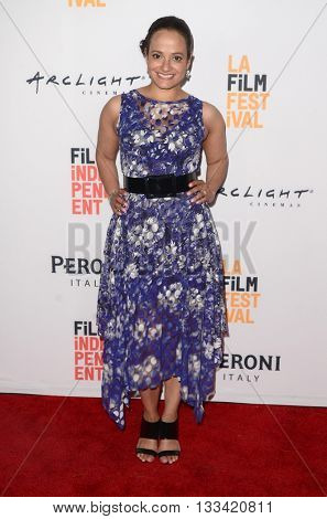LOS ANGELES - JUN 6:  Judy Reyes at the Girl Flu Premiere at the Arclight Theater on June 6, 2016 in Culver City, CA