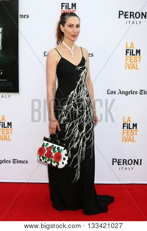 LOS ANGELES - JUN 7:  Bonnie Aarons at the 2016 Los Angeles Film Festival - The Conjuring 2 Premiere at TCL Chinese Theater IMAX on June 7, 2016 in Los Angeles, CA