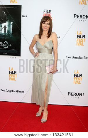 LOS ANGELES - JUN 7:  Frances O'Connor at the 2016 Los Angeles Film Festival - The Conjuring 2 Premiere at TCL Chinese Theater IMAX on June 7, 2016 in Los Angeles, CA