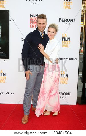 LOS ANGELES - JUN 7:  John Brotherton, Alison Raimondi at the 2016 Los Angeles Film Festival - The Conjuring 2 Premiere at TCL Chinese Theater IMAX on June 7, 2016 in Los Angeles, CA