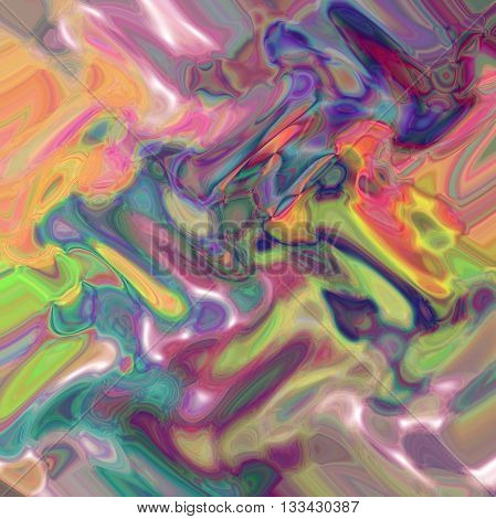 Abstract coloring shadows gradients background with visual lens flare and wave effects
