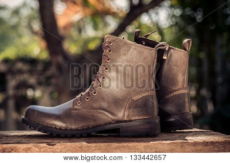 Dark Tone Boots