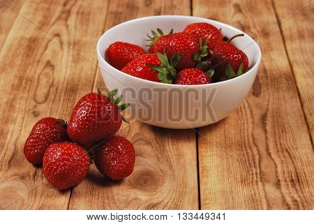 Red Ripe Strawberries