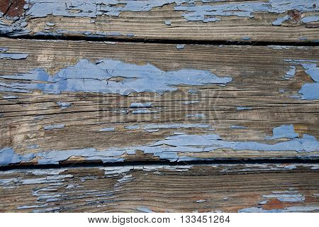 old wood blue painted texture wooden abstract