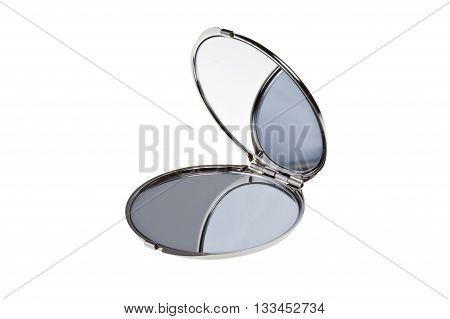 Hand mirror -  isolated on white background
