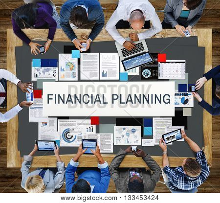 Financial Banking Budget Credit Finance Planning Concept