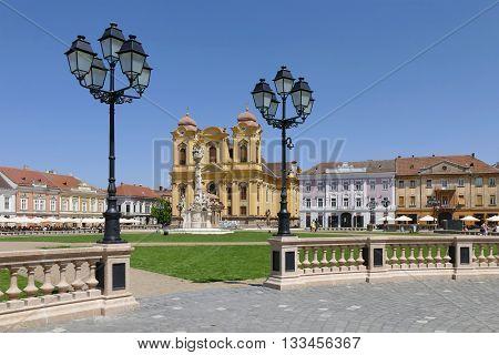 Union Square, City Of Timisoara, Romania