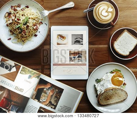 Breakfast Food Delicious Food and Beverages Concept
