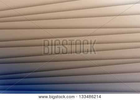 Blue and tan colors with lines used to create abstract background