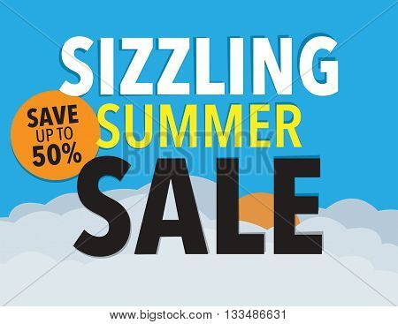 Sizzling summer sale save up to 50% off