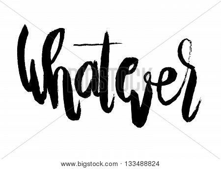 Handwritten Word