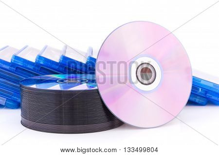 Dvd/cd Box With Discs
