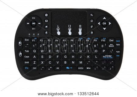 multi media remote control and touchpad function handheld keyboard