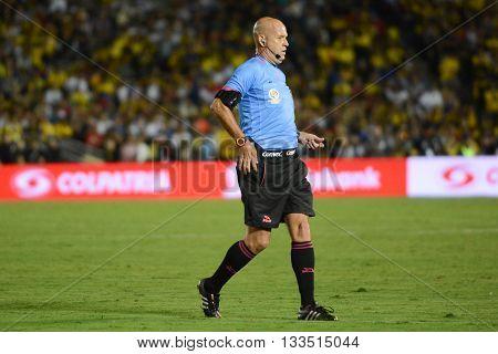 Referee Heber Lopes During Copa America Centenario