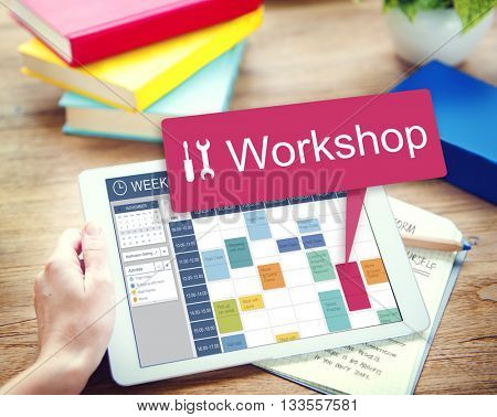 Workshop Work Tool Craftsmanship Build Repair Concept