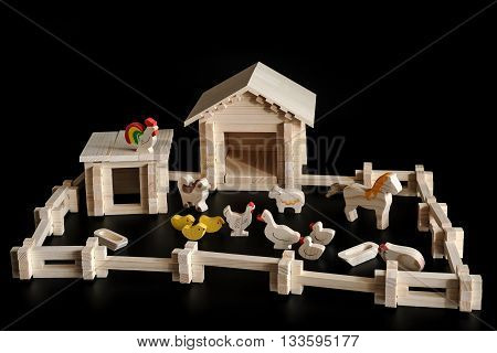 Toy Model Of A House