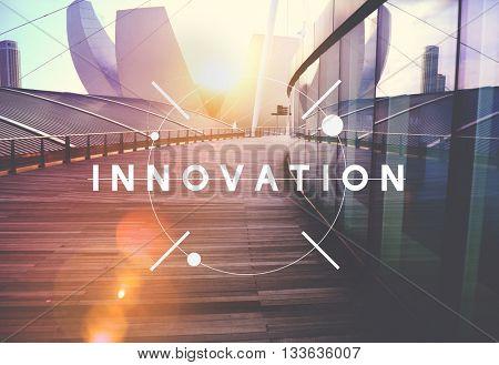 Innovation Technology Be Creative Futuristic Concept
