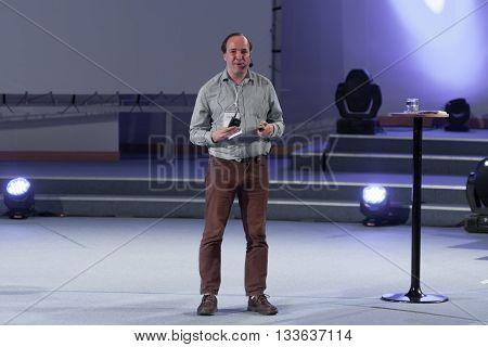 Andrew Osmond  During Talks About Borderline Anime