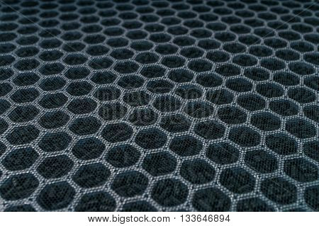 Closeup View On Carbon Air Filter For Hvac Technology.