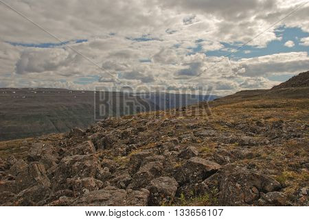 The Putorana Plateau. Rocky roof of the world.