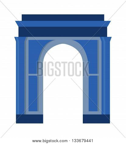 Arch vector architecture ancient frame arch. Column entrance design arch and classical construction arch. History antique culture pillar exterior facade arch. Ornament gateway monument.