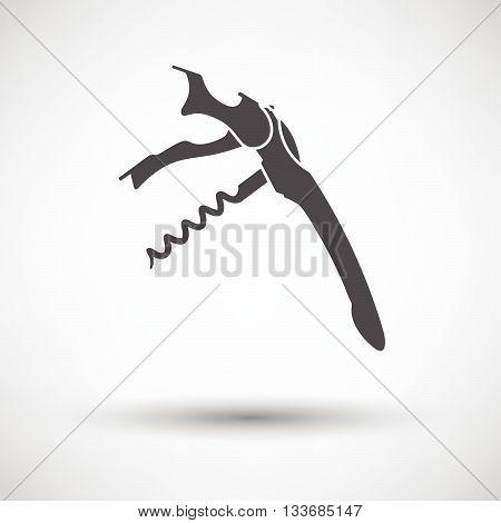Waiter Corkscrew Icon