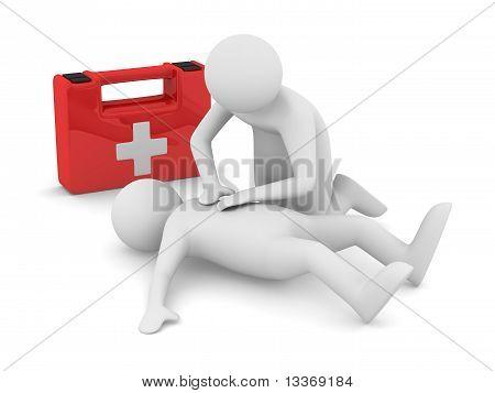First Aid. Artificial Breath.