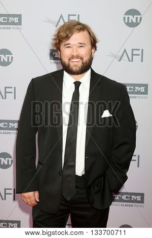 LOS ANGELES - JUN 9:  Haley Joel Osment at the American Film Institute 44th Life Achievement Award Gala Tribute to John Williams at the Dolby Theater on June 9, 2016 in Los Angeles, CA