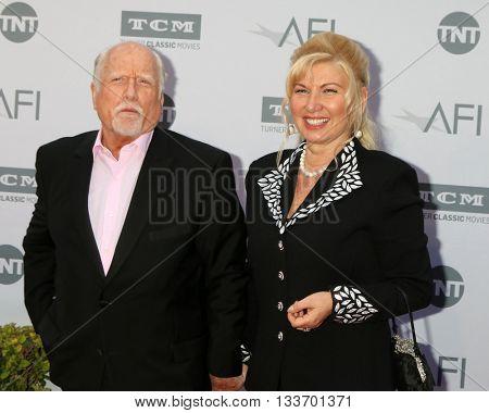 LOS ANGELES - JUN 9:  Richard Dreyfuss, Svetlana Erokhin at the AFI 44th Life Achievement Award Gala Tribute to John Williams at the Dolby Theater on June 9, 2016 in Los Angeles, CA