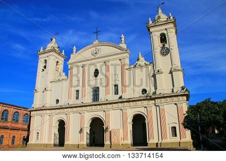 Metropolitan Cathedral Of Our Lady Of The Assumption In Asuncion, Paraguay