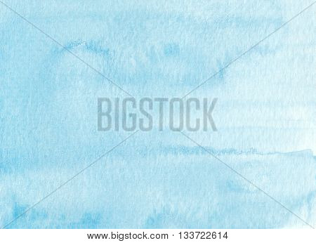 simple faded light blue tones watercolor background