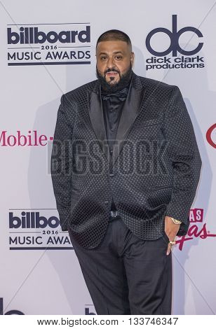 LAS VEGAS - MAY 22 : DJ Khaled poses in the press room at the 2016 Billboard Music Awards on May 22 2016 in Las Vegas