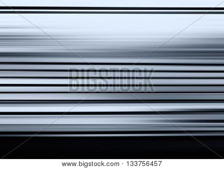 Horizontal bluish grey  motion blur illustration background