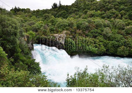 Huka Falls neat to Rotorua, New Zealand poster