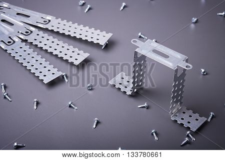 Fasteners for plasterboard, plasterboard fastening, set of building fasteners, building materials, steel fasteners for repair, construction works, modern building materials, screws for construction