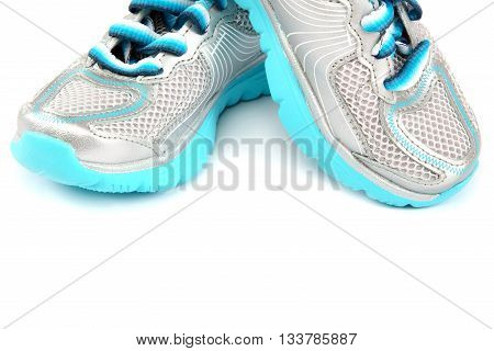 Sport shoes isolated on a white background.