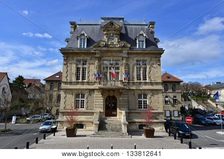 Conflans Sainte Honorine France - april 4 2016 : the city hall