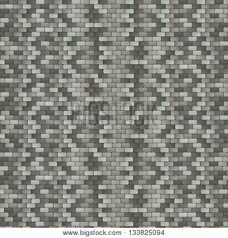 Illustration of the Grey Stone Pavement Background