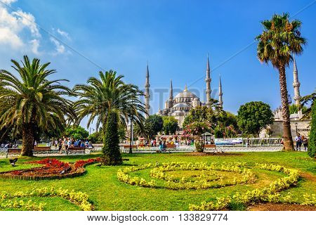 Sultanahmet Park A Popular Tourists Area