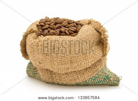 export, food, full, Coffee beans in canvas sack