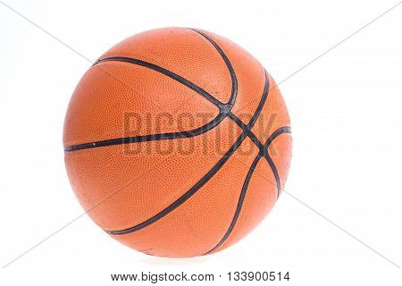 Old Basketball Basket Ball Isolate